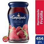 Mermelada Frutillas La Campagnola  Frasco 454 Gr