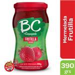 Mermelada Frutillas Bc La Campagnola  Frasco 390 Gr