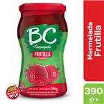 Mermelada Frutillas BC LA CAMPAGNOLA Light Frasco 390 Gr