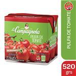 Pulpa De Tomate LA CAMPAGNOLA    Tetrabrik 520 Gr