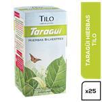 Té Tilo TARAGUI     Caja 25 Saquitos