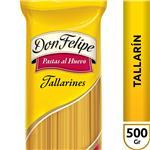 Tallarin Don Felipe Al Huevo   Paquete 500 Gr