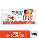 Chocolate KINDER Relleno Tab 100 Grm