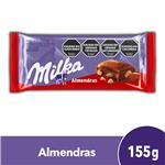 Chocolate C/Almendra.. MILKA Tab 155 Grm
