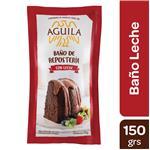 Baño De Chocolate AGUILA Con Leche Pou 150 Grm