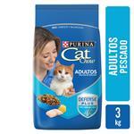 Alimento Para Gato CAT CHOW Adulto Antiox Bsa 3 Kg