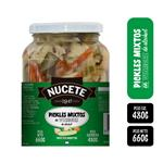 Pickles Mixtos Nucete  Frasco 660 Gr