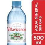 Agua Mineral  VILLAVICENCIO    Botella 500 Cc