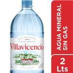 Agua Mineral  VILLAVICENCIO    Botella 2 L