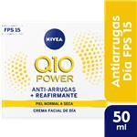 Crema NIVEA Visage Dia Antiarrugas Q10 Pot 50 Ml