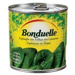 Espinaca  Bonduelle En Hoja Lata 380 Gr