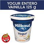 Yogur Entero MILKAUT Vainilla 125 Gr