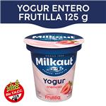 Yogur Entero MILKAUT Frutillas 125 Gr