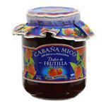 Dulce Frutillas Cabaña Micó  Frasco 454 Gr