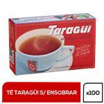 Té  TARAGUI     Caja 100 Saquitos