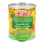Durazno Coto Light Lata 800 Gr