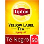 Té Negro LIPTON   Yellow Label Caja 50 Saquitos