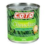 Chaucha En Trozos COTO Finos Lata 400 Gr