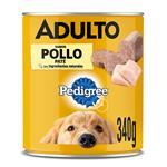Alimento Para Perro PEDIGREE Pollo/Carne Lat 330 Grm