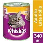 Alimento Para Gato WHISKAS Pollo Lat 340 Grm