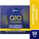 Crema NIVEA Visage Antiarrugas Q10 Plus Noche Pot 50 Ml