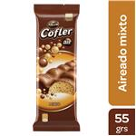 Chocolate COFLER Aireado Blanco Y Leche Tab 55 Grm