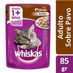 Alimento Para Gato WHISKAS Pavo Pou 85 Grm