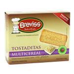 Tostadas BREVISS Multicereal Est 125 Grm