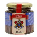 Filet De Anchoas MELILLA Frasco 170 Gr