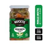 Pickles  Nucete  Frasco 330 Gr