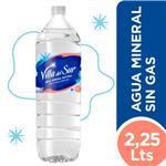 Agua Mineral VILLA DEL SUR Botella 2.25 L