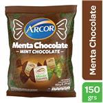 Caramelos ARCOR Menta Con Chocolate Bol 150 Grm