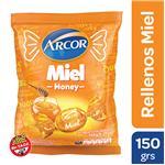 Caramelos ARCOR Rellenos Con Miel Bol 150 Grm
