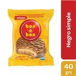 Alfajor Bon O Bon Chocolate Paquete 40 Gr 1 Unidad