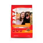 Alimento Para Perro RAZA Adulto Carne Bol 3 Kg