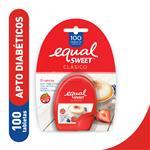 Edulcorante EQUALSWEET      Caja Tabletas X 100