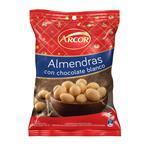 Almendras Con Chocolate Blanco Arcor 100 Gr