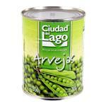 Arveja Enteros Ciudad Del Lago  Lata 350 Gr