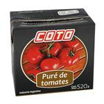 Pure De Tomate Coto  Tetrabrik 520 Gr