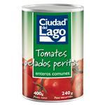 Tomate Perita Ciudad Del Lago Pelado Lata 400 Gr