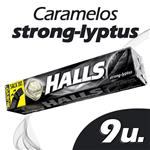 Caramelos HALLS Strong Mint Paq 28 Grm