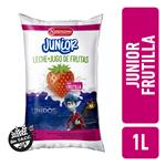 Leche Entera Frutilla JUNIOR Sch 1 Ltr