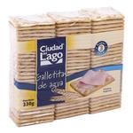 Galletitas Crackers CIUDAD DEL LAGO Paq 330 Grm
