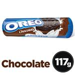 Galletitas Rellenas OREO Chocolate Paq 111 Grm