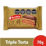 Alfajor Triple TERRABUSI   Dulce De Leche Paquete 70 Gr 1 Unidad