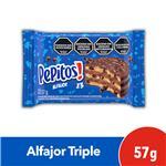 Alfajor Triple PEPITOS Paquete 57 Gr 1 Unidad