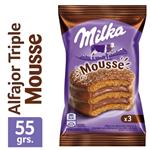 Alfajor Triple MILKA   Mousse Paquete 55 Gr 1 Unidad