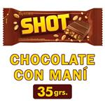 Chocolate Shot Con Mani Paq 35 Grm