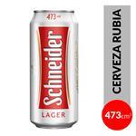 Cerveza Lager SCHNEIDER   Lata 473 Cc