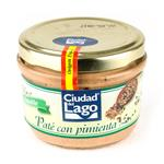 Pate CIUDAD DEL LAGO Pimienta Lat 125 Grm